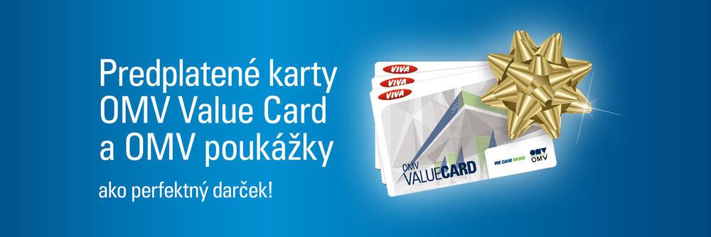 Predplatene Karty Omv Value Card A Omv Poukazky Omv Sk